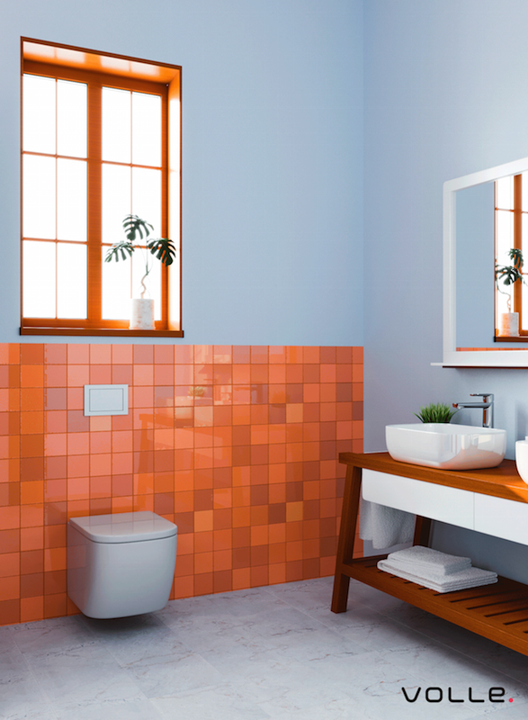 Bathroom Design for the New TM VOLLE Catalog