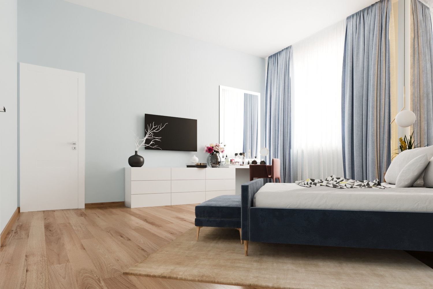 Bedroom interior design Marbella