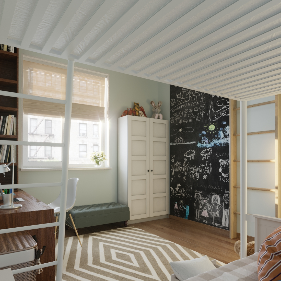 Kids room interior design Marbella