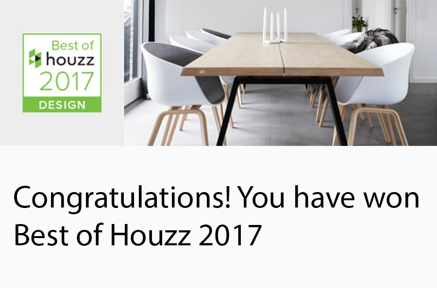 Anna Kovalchenko Interiors studio has won Best of Houzz 2017 award